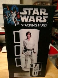 Star Wars Stacking Mugs Oklahoma City, 73135