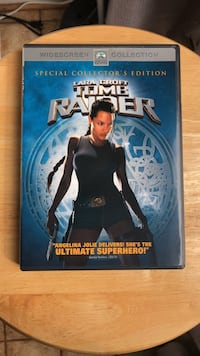 Tomb Raider DVD Movie Laurel