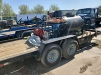 Seal coating rig/with trailer  Bear, 19701