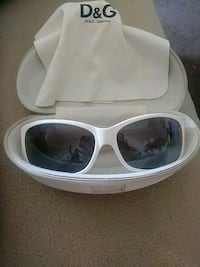 white framed sunglasses with case Memphis, 38128