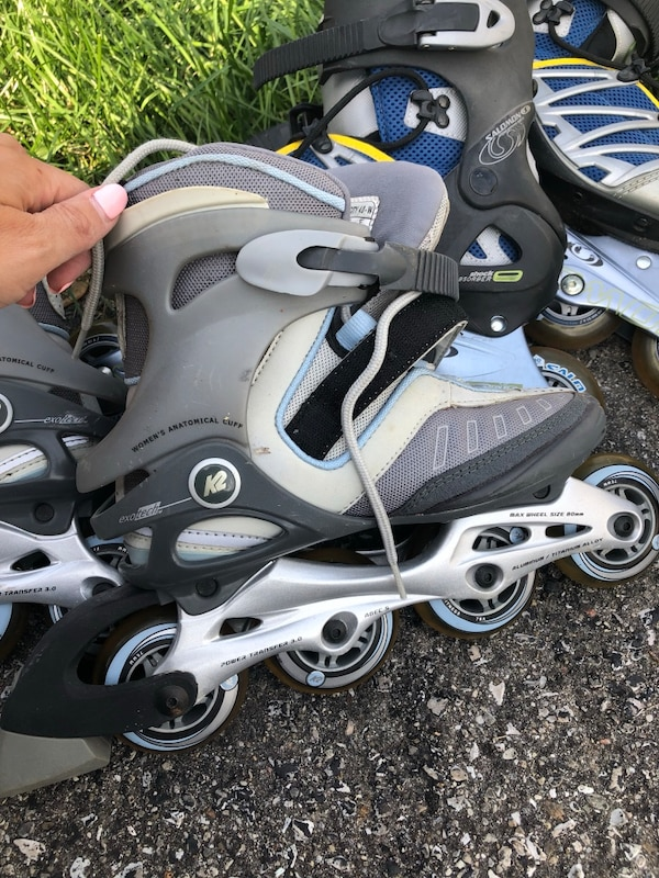 His & Hers Roller Blades 4