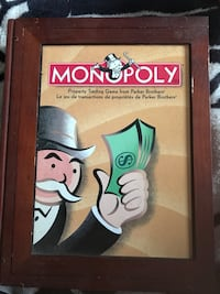 1930 Monopoly family board game