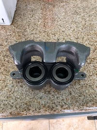 Black and gray metal part
