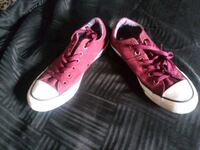 Converse all stars maroon and white