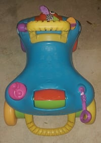 Blue and yellow ride on toy/walker Upper Marlboro, 20772