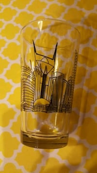 Nashville drinking glass cup