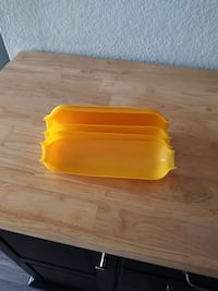 yellow plastic cases