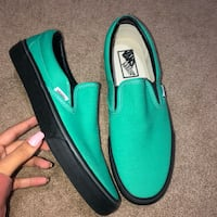 pair of green-and-black slip on shoes Arlington, 22204