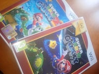 due custodie per Wii di super Mario Galaxy Linate, 20068