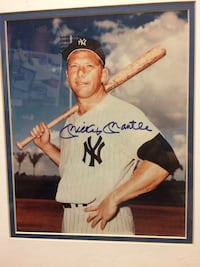 A signed Mickey Mantle photograph Las Vegas, 89107