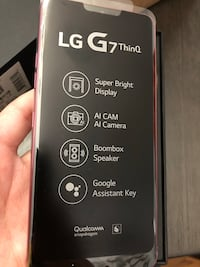 BRAND NEW LG G7 THINQ NEVER OPENED... NEGOTIABLE Cranston, 02910