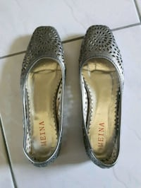 Silver Miena Flats size 5 to size 6 Toronto, M5G 1C5