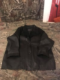 Women's one x leather jacket 55 mi