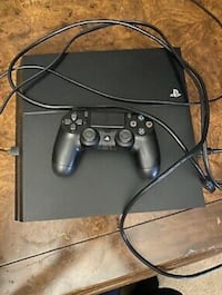 Gently used play station 4