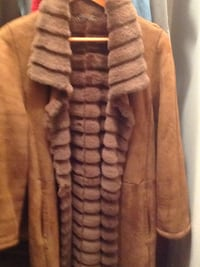 brown and gray fur coat Washington, 20024