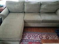 Olive fabric sofa & chair interchangeable lounge Charlotte, 28277