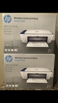 BRAND NEW FACTORY SEALED HP PRINTER INC  ALL-IN-ONE /WIRELESS*/PRINT /SCAN /COPY /WIFI HOME OFFICE  FIRM$60EACH  Fontana, 92337