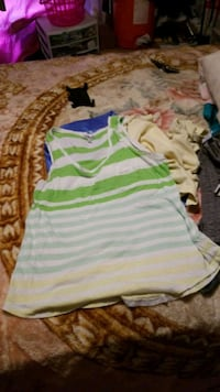 white and green stripe tank top Amarillo, 79107