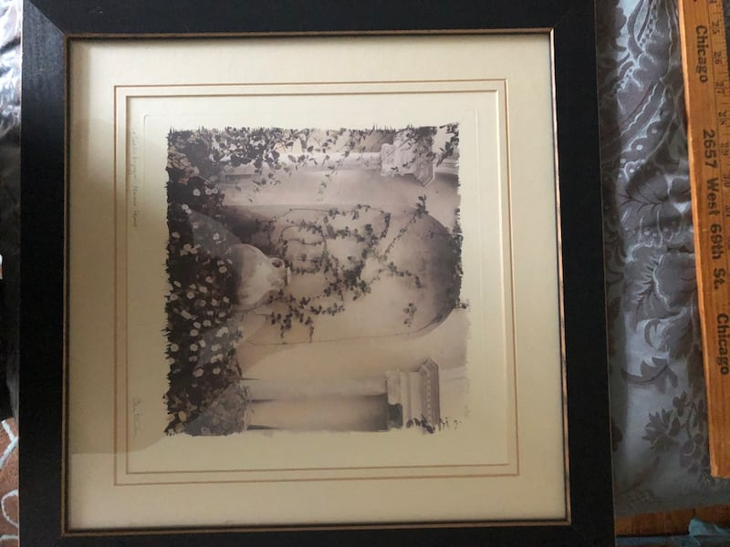 2 black & white Provence France pictures Alan Blaustein 1