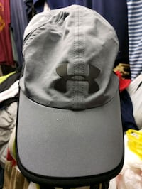 gray and black Under Armour cap Dundalk, 21222