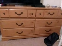 6 Drawer Dresser with Mirror Murfreesboro, 37129