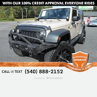 2016 Jeep Wrangler Unlimited Sport Stafford, 22554