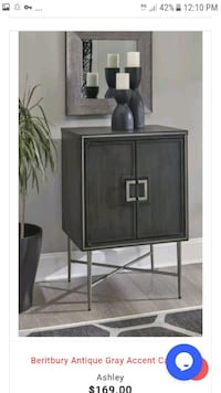 Brand New Antique Gray Cabinet!Best Price in Maryland Baltimore, 21093
