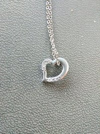 Heart diamond necklace 925  Roswell, 88201