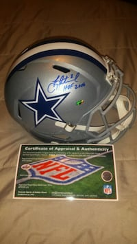 Troy Aikman signed, inscribed & authenticated  Toronto, M1L 2T3