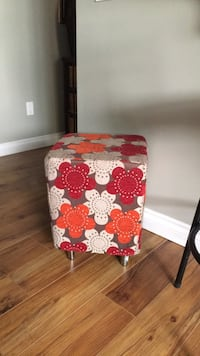 Funky stool  18 1/2 in high  15 in sq Surrey, V3S 0Y5