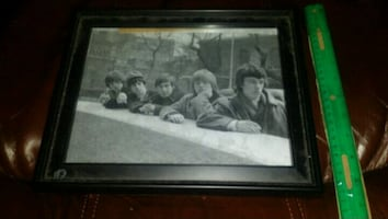 Rolling Stones picture frame