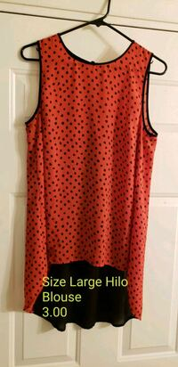 red and black blouse from Nordstrom Rack Oklahoma City, 73139