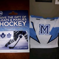St Mike's Ohl Jersey and Maple leafs gift card. Halton Hills, L7G 4S1