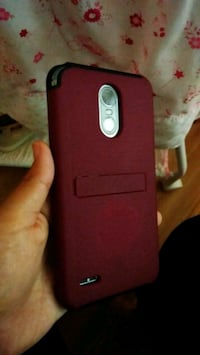 Lg stylo 3 with red case. New Cumberland, 17070