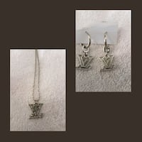 Gorgeous necklace and earrings set Whitby, L1N 8X2