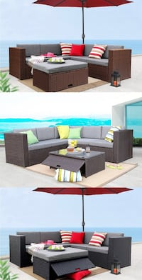 Black and brown sectional couch 洛杉矶, 90025