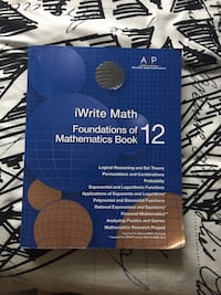 Math 30-1 workbook  Calgary