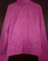 giacca button-up rosa Frosinone, 03100