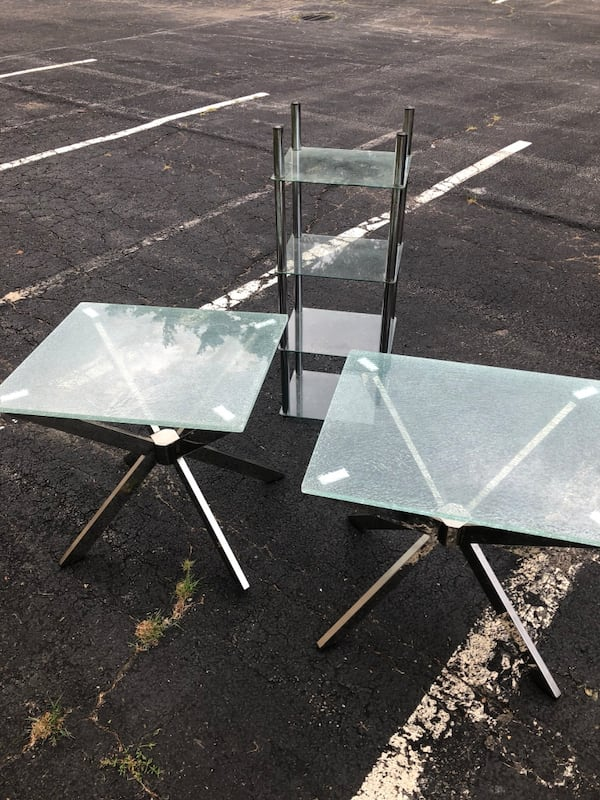 Glass coffee tables and glass shelving  7d8fc4cc-7d88-4d4d-aa1f-9eb6c41f257c