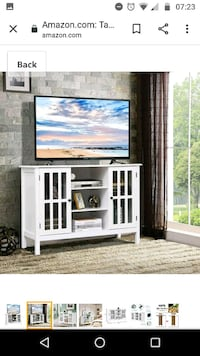 Whtite tv stand/storage furniture/organizer Falls Church, 22044