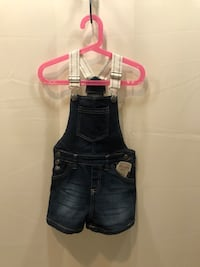 Dark Blue Denim Delia's Girl Overalls Washington, 20020