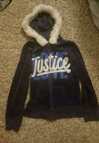 Girls size 12 Justice hoodie Dallas, 75287