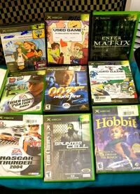 Xbox games for sale.  Individually or as a set