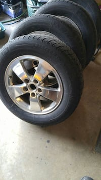 Pneus hiver avec mag/ winter tires with mag Hawkesbury, K6A 3W5