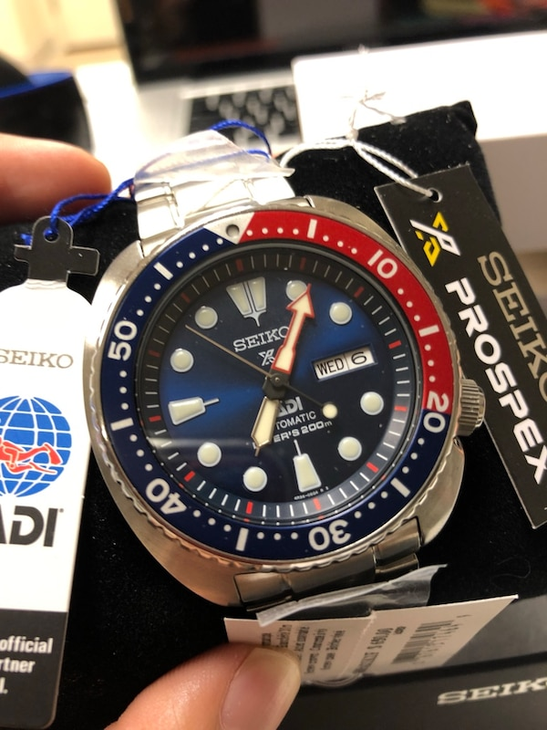 Seiko Pepsi Turtle Padi Prospex Divers Japan Automatic Movement