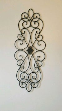 Black metal wall decor  Semmes, 36575