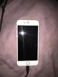 silver iPhone 6 with black case Baltimore, 21215