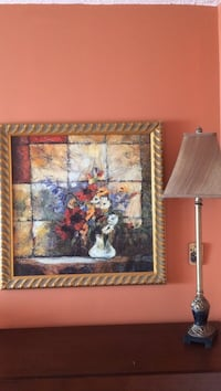Wall decor - framed painting