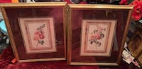 Two brown wooden framed painting of flowers Deer Park, 77536