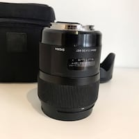 Sigma 35mm 1.4 lens for Canon New York, 10012